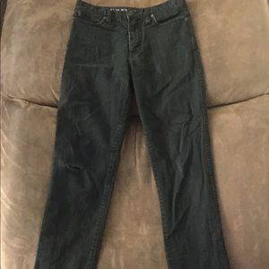 Shaun White, slim fit, black jeans size 12, boys.
